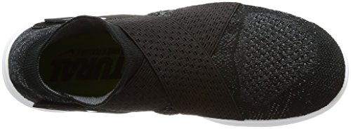 Nike Damen W Free Rn Motion Fk 2017 Laufschuhe Mehrfarbig (Black/white/dark Grey/volt)