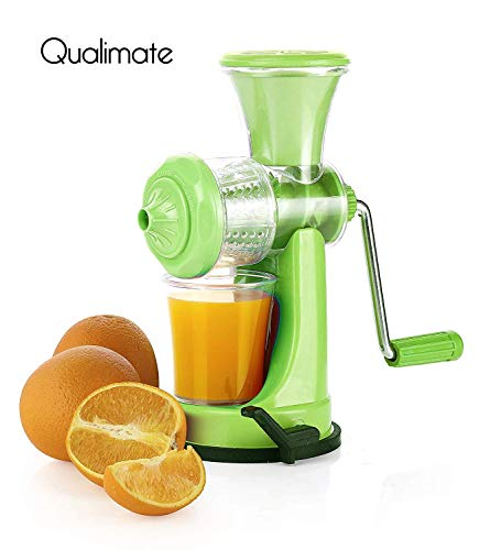 Qualimate Nano Manual Juicer for Fruit and Vegetables (Multi)