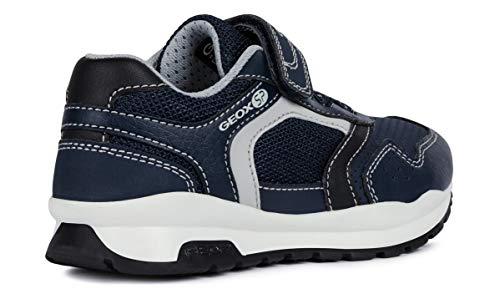 Geox CORIDAN BOY J845DD Boy Trainers,Slip-on,Kids Low Shoes,Sports Shoes,Slippers,Elastic,Velcro