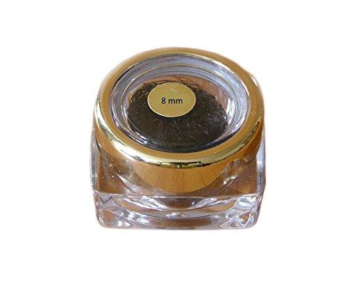 cils en soie - cils de qualité professionnelle, blink Lash Stylist alternative C Curl 0.15mm avec une longueur de 8mm, les cils de soie de haute qualité pour l'extension des cils!