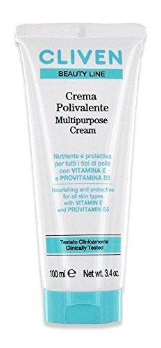 Cliven nutre crema multiuso e protegge tutti i tipi di pelle con vitamina E e provitamina B5, 3-pack (3 x 100 ml)