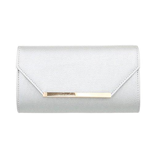Taschen Abendtasche Handtasche Silber