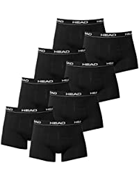 8 x pack Head Men's Boxer Shorts with Elastic Waistband