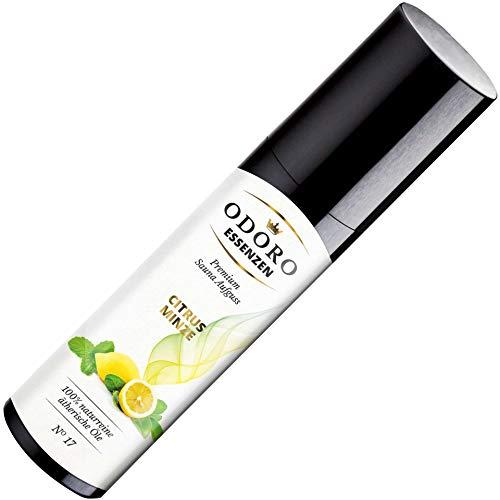 Saunaaufguss Duft Zitrone Citrus Minze - 100% ätherische Öle - Premium Aufguss Konzentrat (100ml) - Natürliches Aufgussmittel, naturreine Saunaaufgüsse -