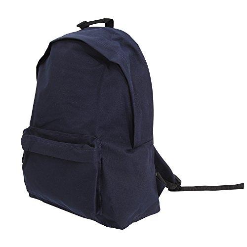 Bagbase Maxi Fashion Rucksack, 22 Liter (One Size) (Marineblau) Maxi Fashion