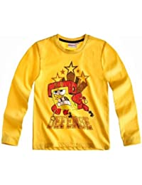 Sponge Bob Langarmshirt Sweatshirt für coole Jungs in 3 Motiven