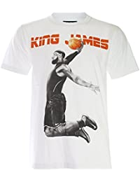 PALLAS Men's King Lebron James Basketball Sport T-Shirt
