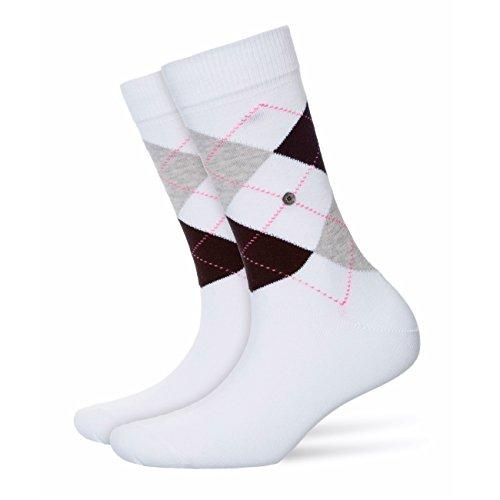 Burlington Damen Socken Queen 4er Pack, Größe:36-41;Farbe:White (2001)
