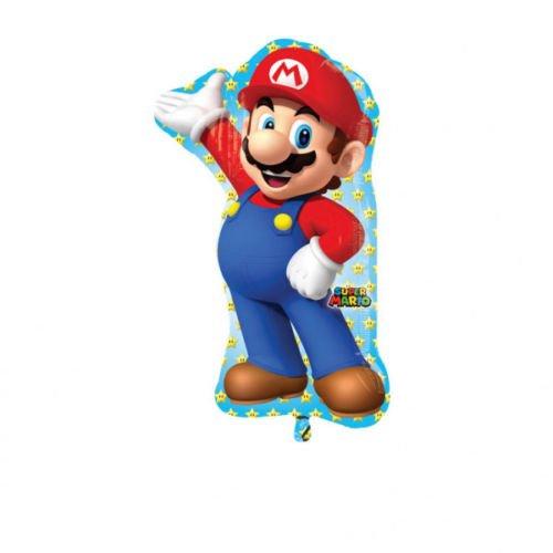 Ballonim® Super Mario Figur ca. 80cm Luftballons Folienballon Party DekorationGeburtstag