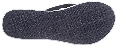 Tom Tailor 9693302, Tongs femme Bleu (Marine)