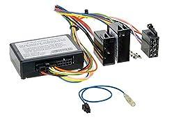 Lenkradfernbedienung Adapter Interface LFB kompatibel mit Zenec Radios passend für Mercedes C-Klasse 2000-2004