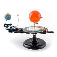 Aikeec Solar System Sun Earth Moon Orbital Planetarium Model Educational Learning Study Tool Geography Sciences Toy for Kids Children 43x20x28cm