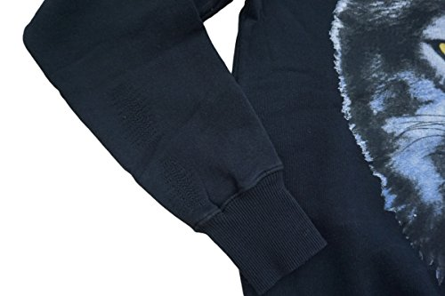 Diesel Jeans Pullover Spreymun Felpa Schwarz S M L XL XXL Schwarz