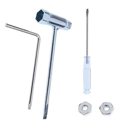 MagiDeal 5pcs T27 Vergaser Einstell Werkzeug Spezialschlüssel Schraubendreher Kit für Stihl Motorsägen Kettensäge Trimmer Rasenmäher