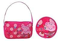 Peppa Pig - Pink Polka Dot Handbag and Purse Set