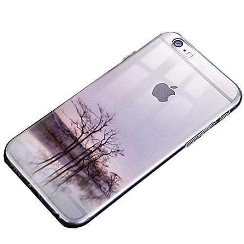 Easbuy Cute Soft TPU Silicium Etui Étui Housse Coque Pour iPhone 7 Anti-Scratch Silicone Silikon Cover Silicon Case Mode 5