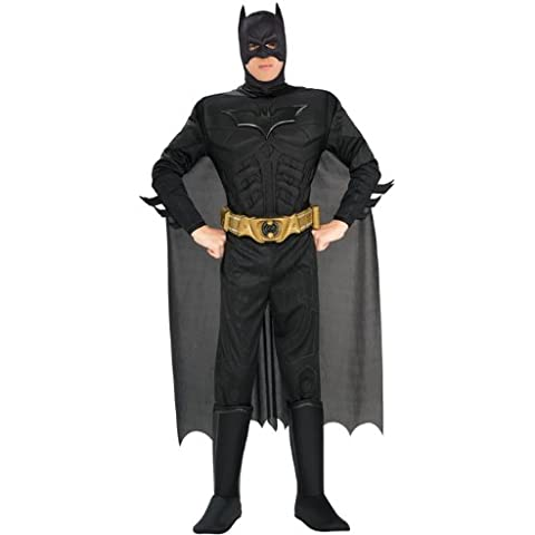 Disfraz adulto Batman negro XL (44-48
