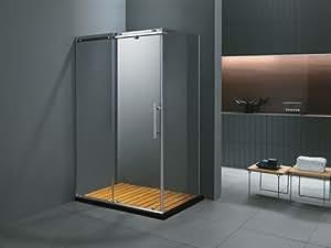 Viva Pool - Paroi de douche rectangulaire Skara 90x120x185cm
