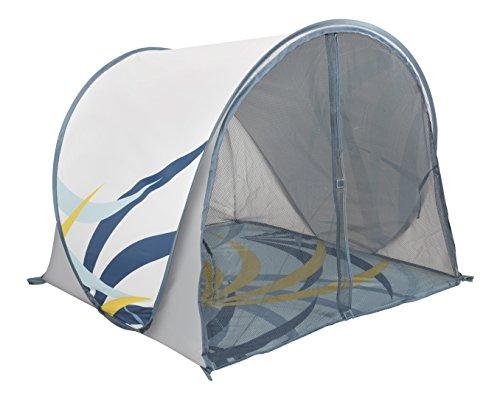 Babymoov Anti-UV Schutzzelt Tropical - UV-Schutz 50+, Pop-Up Zelt, Strandmuschel, inkl. Moskitonetz, 98 x 90 x 85 cm