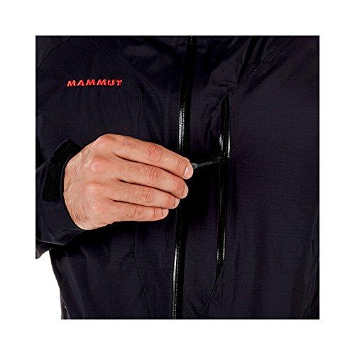 Mammut Herren Hardshell-Jacke Kento mit Kapuze, schwarz (black), L - 6