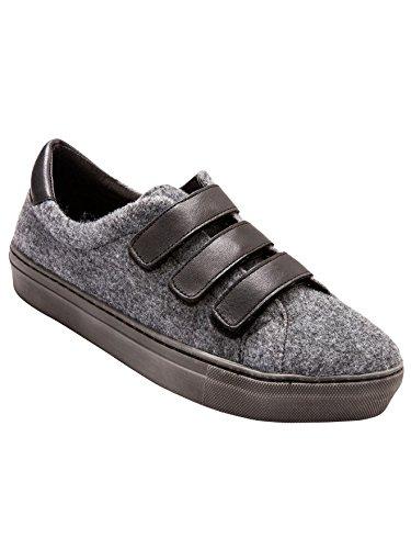 Balsamik - Sneakers tweed e pelle - - Size : 36 - Colour : Grigio