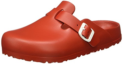BIRKENSTOCK Classic Boston Eva, Damen Clogs, Rot (Red), 36 EU (Antik Boston Clogs)