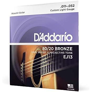 1 Satz Akustikgitarren-Saiten .013 .056 Fender Acoustic 70 M