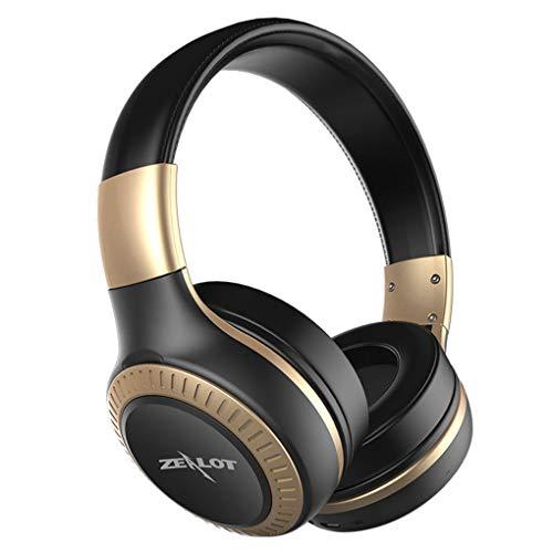 Aiming Reduzierung USB Lärm Headset Faltbare On-Ear-Kopfhörer drahtlose Bluetooth-Kopfhörer mit HD Sound Bass für Zealot B20