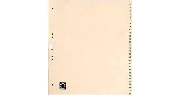 A4 TauenPapier halbe H/öhe chamois 5 Star 233064 Tauenregister
