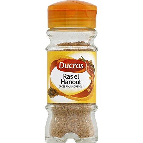 Ducros - Epices pour couscous, ras el hanout, opercule fraîcheur - Le