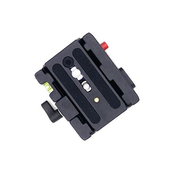 Manfrotto-Zubehrplatte-mit-14-und-38-Schraube-501-PL