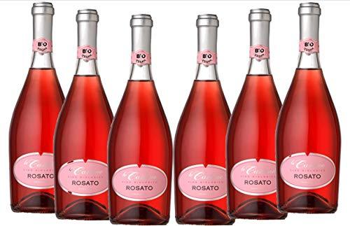 Vino rosato frizzante biologico e vegano le carline