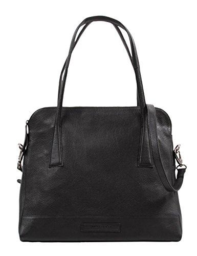 Hüft BAG No. 98 B 31214014 Unisex-Erwachsene Schultertaschen 37x33x18 cm (B x H x T) Schwarz (black 2)