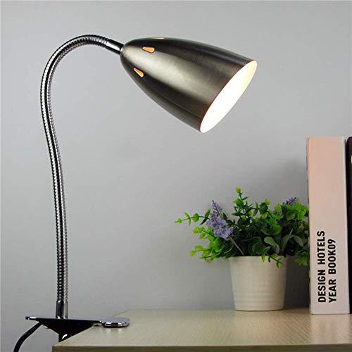 halts-Schreibtischlampe, LED-Clip auf Lampe Mini Creative Dormitory College Tischlampe Augenschutz Leselampe 360 Grad drehendes Licht Schlafzimmer Nachttischlampe Nachttischlamp ()