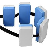 Cinturón de natación ajustable de espuma EVA Piscina Acuático Cinturón de agua flotante Equipo de cinturón de entrenamiento para adultos