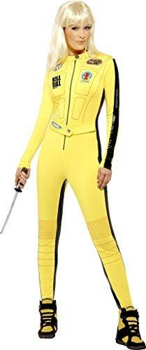 Damen Kill Bill Lizensiert Maskenkostüm Größe S Passend für 8 bis (Kostüme Dress Womens Fancy Passende)