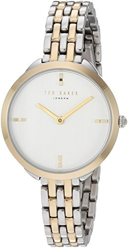 Ted Baker Women's 'ELANA' Quartz Stainless Steel Casual Watch, Color:Two Tone (Model: TE15198007)