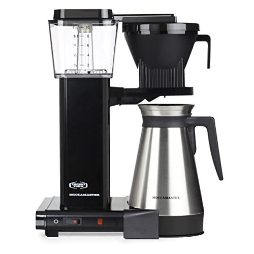 41Ib18O e L. SS500  - Moccamaster Filter Coffee Machine KBGT 741 -UK Plug, 1.25 Litre, 1450 W, Black