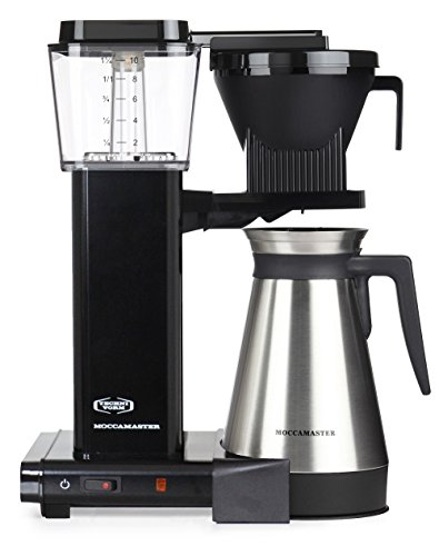41Ib18O e L - Moccamaster Filter Coffee Machine KBGT 741 -UK Plug, 1.25 Litre, 1450 W, Black
