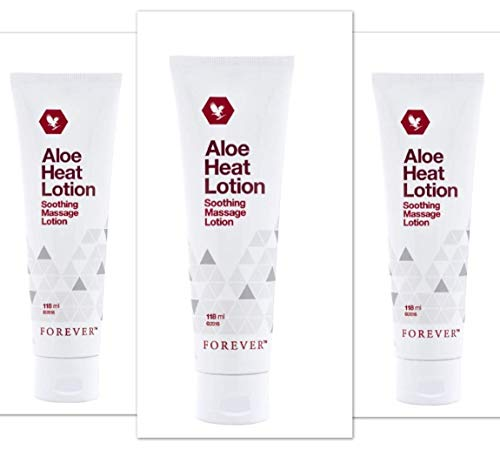 3 Stück Aloe Vera Heat Lotion Massage Lotion - Forver Living FLP