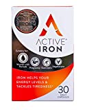 Active Iron | Iron Tablets | Ferrous Iron Sulphate Supplement | Recommended