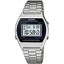 Casio B640WD1A - Reloj Unisex metálico Negro/Plata