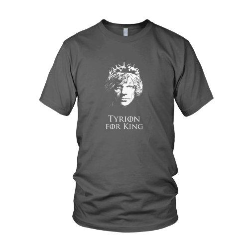 GoT: Tyrion for King - Herren T-Shirt Grau