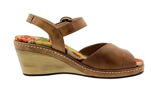 Chaussure femme confort en cuir Piesanto 6953 sandale casual chaussure confortables amples Cuero