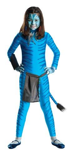 Kind Avatar Kostüm Neytiri - Avatar Neytiri Kinder, Größe:L