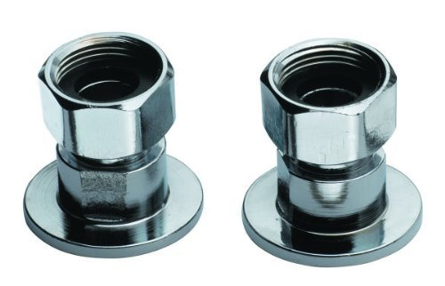Center Inlet (Krowne Supply Inlets (2 Pieces) for Commercial Series 8 Center Faucets by Krowne Metal)