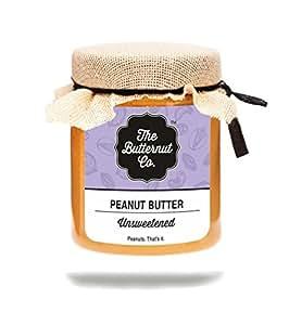 The Butternut Co. Unsweetened Peanut Butter, 200g
