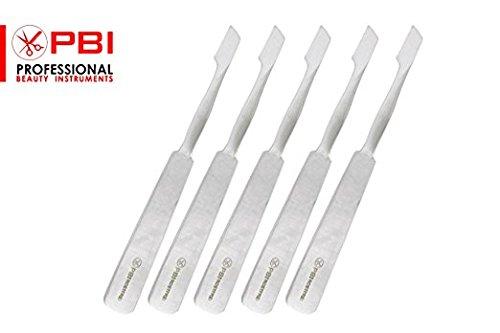 bisturi coltello - coltello per hobby - coltello per arte e artigianato - coltello a lama fissa - 10,5 cm - Set di 5 pezzi - acciaio inossidabile da PBI