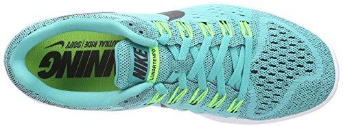 Nike Lunartrainer, Chaussures de Running Compétition Homme turquoise (Light Retro/Black-Flash Lime-White)