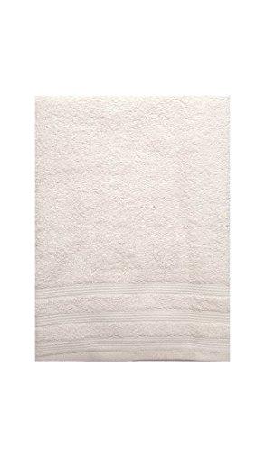 Set Asciugamani Bagno Telo Viso e Ospite 1+1 in Spugna 100% cotone Bassetti (Bianco)